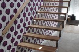 Schody konstrukcyjne drewniane