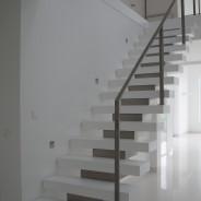 schody konstrukcyjne Rzeszów białe