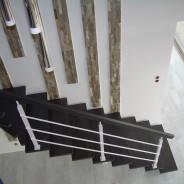 Schody konstrukcyjne podkarpacie ciemne