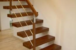 Balustrada przy schodach ażurowych Rzeszów