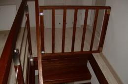 Bramka zabezpieczająca na schody Rzeszów