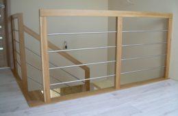 """Balustrada przy schodach w kształcie litery ,,U"""""""