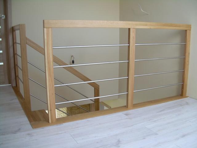 Balustrada schody U